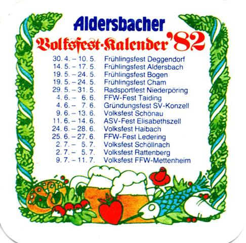 aldersbach pa-by alders vfk 4a (quad185-volksfest 1982 I) (