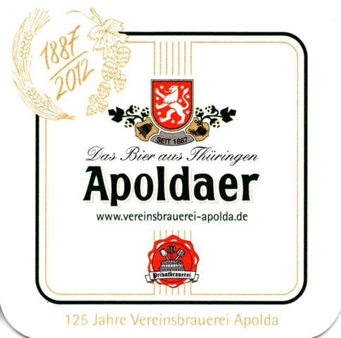 apolda ap-th apoldaer 125 jahre 1-6a (quad180-1887 2012)