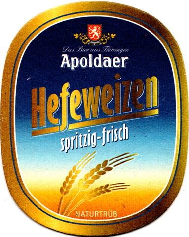 apolda ap-th apoldaer oval l o & u 1b (230-hefeweizen)