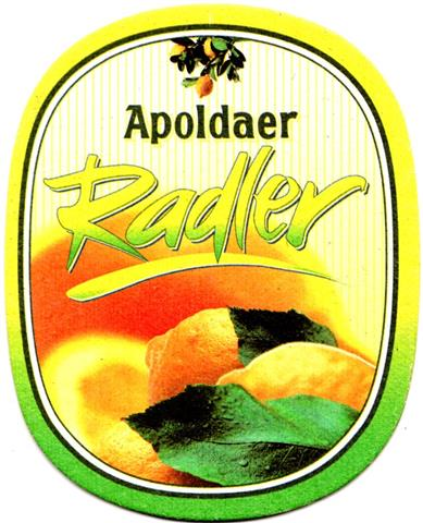 apolda ap-th apoldaer oval l o & u 2b (230-radler)