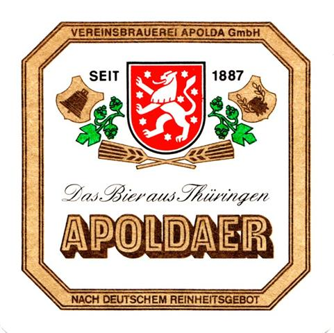 apolda ap-th apoldaer quad 2a (185-8eckiger goldrahmen)