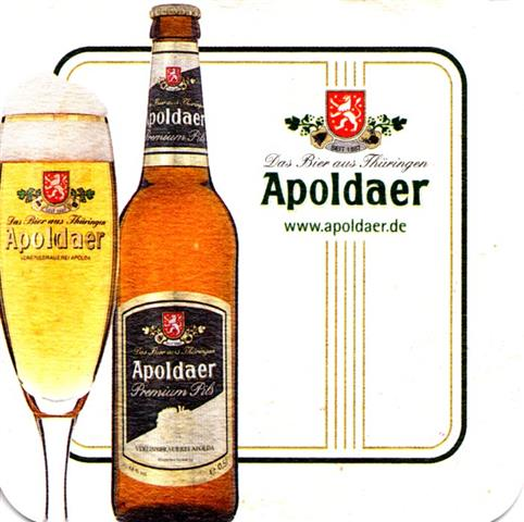 apolda ap-th apoldaer quad 4a (180-l glas & flasche)
