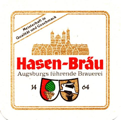 augsburg a-by hasen ibv 1a (quad185-augsburgs führende)