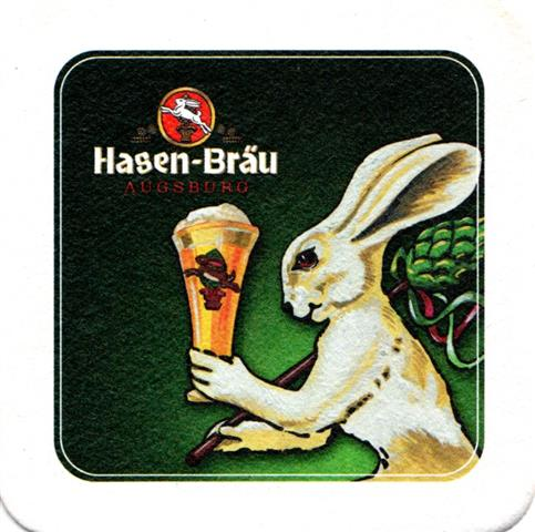 augsburg a-by hasen ibv 9-10a (quad185-hase mit bierglas)