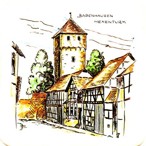 babenhausen of-he michels his baben 3b (quad185-hexenturm)