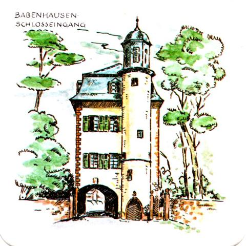 babenhausen of-he michels his baben 4b (quad185-schlosseingang)