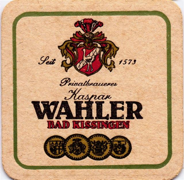 bad kissingen kg-by wahler 1a (quad185-privatbrauerei kaspar)