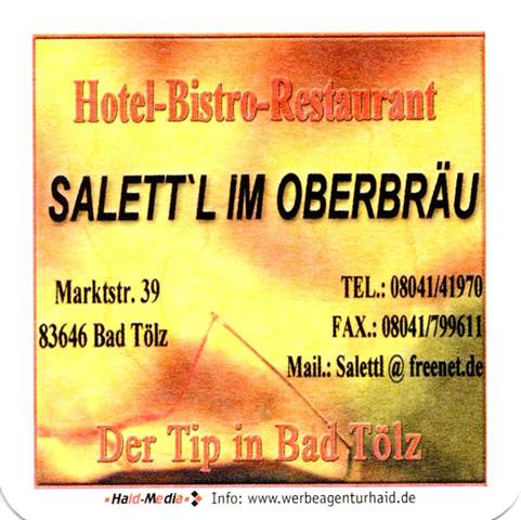 bad tölz töl-by salettl 1a (quad185-hotel bistro restaurant)