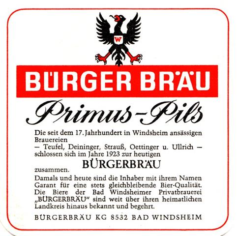 bad windsheim nea-by bürger quad 1a (185-primus pils-schwarzrot)
