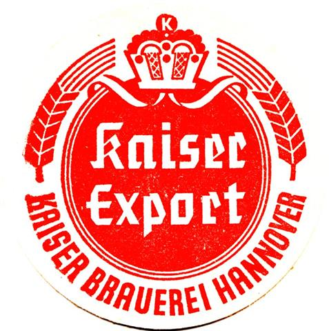 hannover h-ni kaiser rund 3a (215-export-schmaler rand-rot)