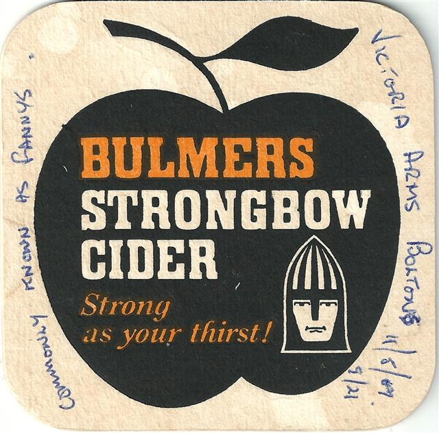 hereford wm-gb bulmer bul quad 1a (185-bulmers strongbow-schwarzorange)
