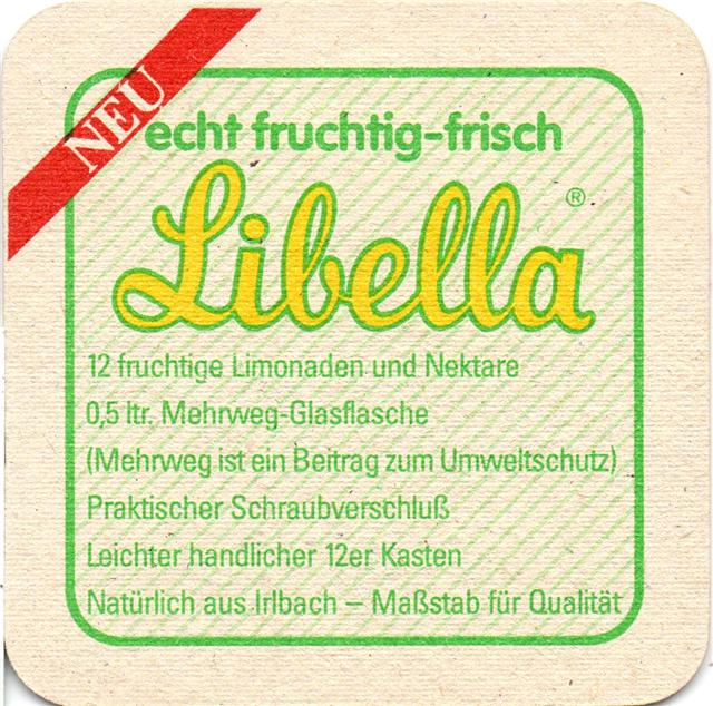 irlbach sr-by irlbacher quad 5b (180-libella-o l sticker neu)