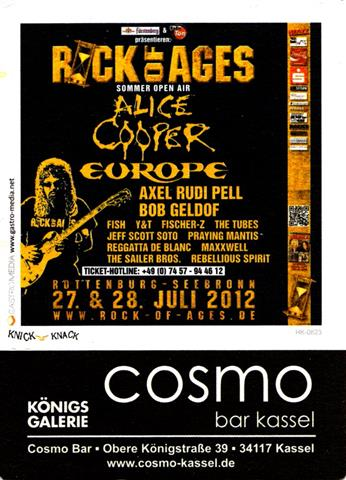 kassel ks-he cosmo 1a (recht255-rock of ages)