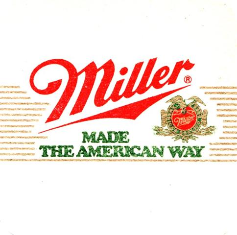 milwaukee wi-usa miller quad 2a (170-made the american)
