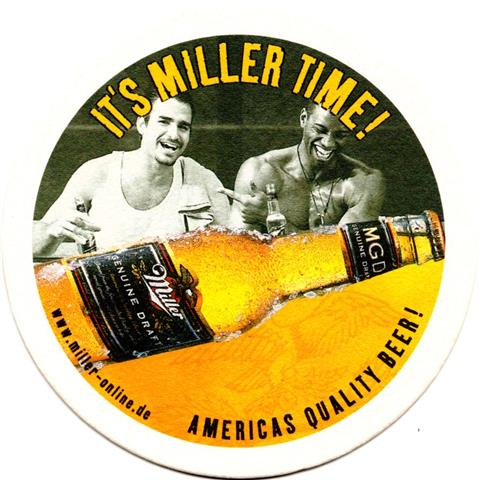 milwaukee wi-usa miller rund 1b (215-it's miller time)