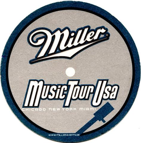 milwaukee wi-usa miller rund 2a (240-music tour usa-schwarzblau)