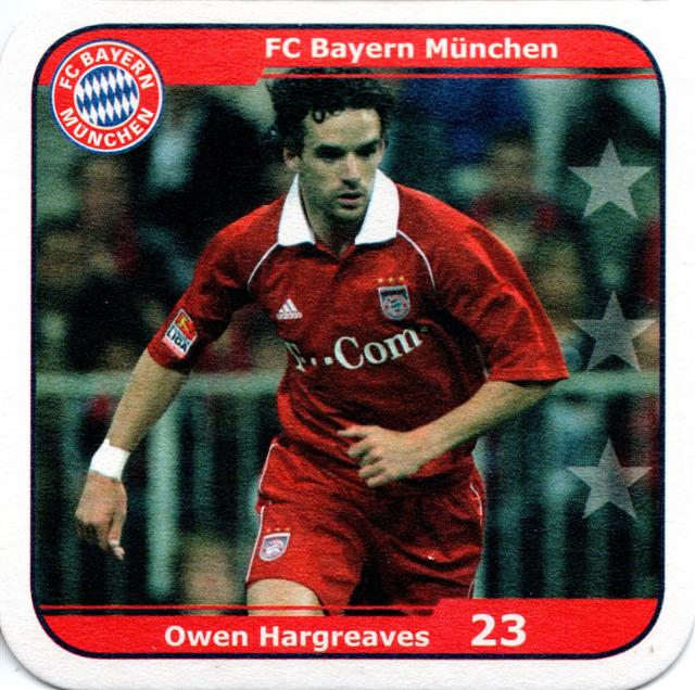 münchen m-by fc bayern 2005 17b (quad185-hargreaves)