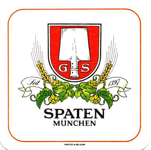 münchen m-by spaten spat münch 6ab (quad180-rahmen rot-printed in belgium)