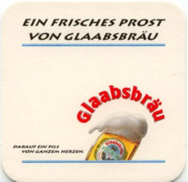 seligenstadt of-he glaab quad 2a (180-ein frisches prost)