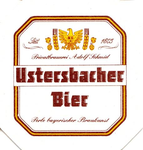 ustersbach a-by usters 8eck 1ab (195-perle bayerischer-braungelb)